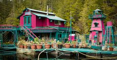 Determined Couple Went Off The Grid, Built A Self-Sustaining Island Home For Themselves