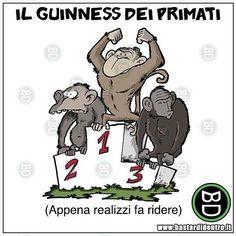 Umorismo e giochi di parole #bastardidentro #guinness #primati www.bastardidentro.it