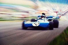 Francois Cevert - Tyrrell - Austria 1971