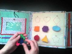 Fantastic quiet book - great ideas! Развивающая книжка №3 / Quiet book #3 - YouTube