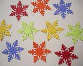 Snowflake embellishments