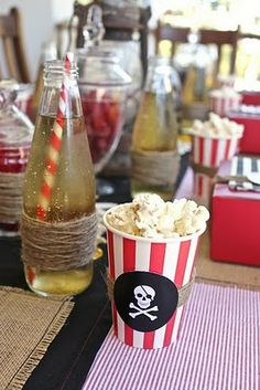 So Lovely Moments !: Mercredi, jour des enfants ! Anniversaire pirates...