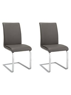 Buy Grey John Lewis & Partners Ronson Dining Chairs, Set of 2 from our Dining Chairs range at John Lewis & Partners. Dining Table Chairs, Upholstered Furniture, Floor Chair, John Lewis, Upholstery, Minimalist, Grey, House, Home Decor