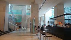 Lobby Area at the Hilton Sydney Hotel Conrad Hotel, Hotel Reviews, Family Travel, Sydney Australia, Modern, Hotels, Blog, Home Decor, Family Trips