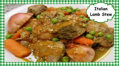How to Make Classic Italian Lamb Stew ~ Great Lamb Stew Recipe Boneless Leg Of Lamb, Youtube Cooking Channels, Lamb Stew, Classic Italian, Pot Roast, Food Videos, Great Recipes, Italian Recipes, Link
