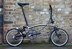Brompton Nickel Edition .........Brompton brings the bling to Taipei with Nickel & Stardust | Bicycle Business | BikeBiz
