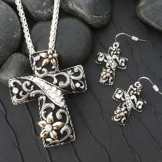 Cross Necklace Set - Find it at The Cactus Rose