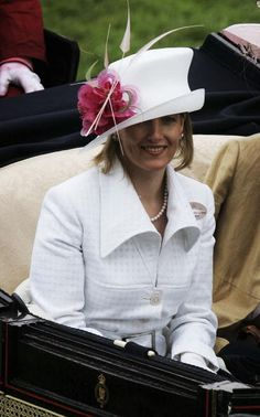 Sophie, Countess Of Wessex at Ascot