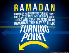 Before you call someone a Ramadan Muslim! Ramadan has been the turning point for a lot of Muslims. So don't mock those who start practicing in Ramadan, this may be their turning point. Allah Islam, Islam Quran, Islam Muslim, Islamic Images, Islamic Quotes, Preparing For Ramadan, Ramadan Tips, Online Quran, Ramadan Greetings
