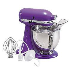 OMG!  Kitchen Aid makes a purple mixer!
