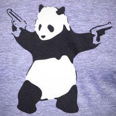 Panda Shirt Size L $24.00