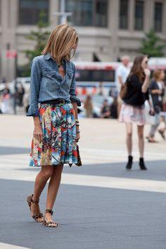 Chic Street style women fashion20