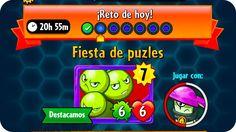 Plants vs. Zombies Heroes #85 | Reto Diario : Fiesta de Puzles | RETO AL...