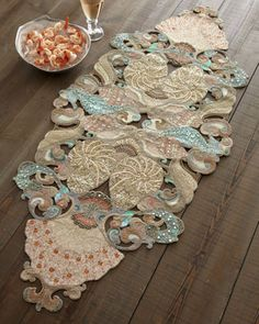 Kim Seybert Oceania Table Runner   Horchow