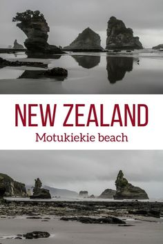 New Zealand Travel Guide – Discover Motukikie beach with seastacks and starfish | #newzealand | Things to do in New Zealand South Island | New Zealand photography | New Zealand Road Trip | New Zealand scenery | New Zealand travel tips | New Zealand itinerary | #Travel | Travel Inspiration | Scenery & Wanderlust | Best Travel destinations