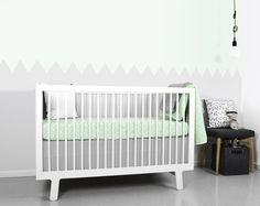 #kids #bed #OeufNYC #kidsbed http://www.smallable.com/lit-bebe/5709-lit-sparrow-blanc.html