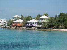 Staniel Cay Island Yacht Club January 2013