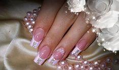 Pink Beautiful Wedding Nail