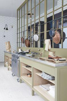 Plain English Marylebone Showroom | 'The Osea Kitchen' by Plain English | www.plainenglishdesign.co.uk