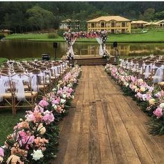 Garden Wedding Ideas Beautiful Decorations for a Fun. For casual outdoor reception seating, hay bales and mis-matche Wedding Ceremony Ideas, Romantic Wedding Receptions, Outdoor Wedding Decorations, Outdoor Wedding Venues, Ceremony Decorations, Romantic Weddings, Wedding Themes, Rustic Wedding, Wedding Backyard