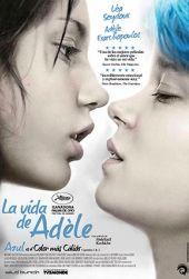 """ESTRENO DE PELICULA """"La Vida de Adele""""  31 DE ENERO. A sus 15 años, Adèle no tiene dudas de que una chica debe salir con chicos. Sin embargo, tiene dudas de su propia sexualidad. Todo cambia el día que conoce y se enamora de Emma."""