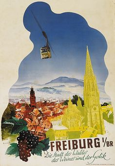 Freiburg im Breisgau Baden Wurtemberg Jupp Wiertz https://poster-auctioneer.com/auction_history/history_list/298/6