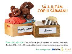Campanie de colectare: Să ajutăm copiii sărmani! | Centru Esprit