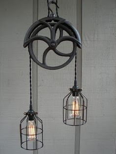 Interesting ideas for decor: Lamp with their hands. Светильник своими руками.