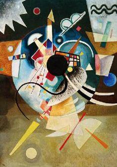 "Wassily, Vassily Kandinsky - Abstract Art - ""A Center"", 1924 Art Kandinsky, Wassily Kandinsky Paintings, Abstract Expressionism, Abstract Art, Abstract Landscape, Art Conceptual, Russian Art, Henri Matisse, Art And Architecture"