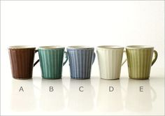 【楽天市場】マグカップ 陶器 益子焼 おしゃれ シンプル かわいい コーヒーカップ カフェ 和食器 パステルカラー 日本製ストレートマグ 5カラー:ギギliving