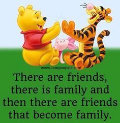 Discover and share Disney Quotes About Friendship. Explore our collection of motivational and famous quotes by authors you know and love. Winnie The Pooh Pictures, Winnie The Pooh Quotes, Winnie The Pooh Friends, I Love My Friends, Family And Friends Quotes, Quote Family, Cute Quotes, Funny Quotes, Motivational Quotes