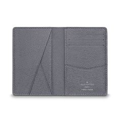 8f27fc9e61ee Louis Vuitton EN - Men Small Leather Goods Card holders Pocket Organiser  Pocket Organizer