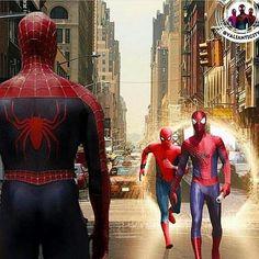 A meeting of minds Marvel Comics, Marvel Venom, Marvel Heroes, Marvel Characters, Marvel Avengers, New Spiderman Movie, Spiderman Pictures, Spiderman Art, Amazing Spiderman