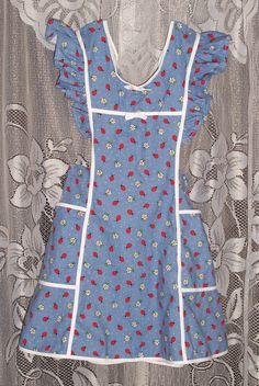Ladies Old Fashioned Wrap Around Overalls