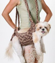 Unusual Design Ideas for Pets, Tote Bags, Strollers and Carriers for Small Pets
