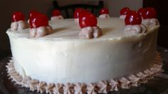 """Chocolate Cake with Cream Cheese Icing 10"""" (serves 20-25)"""