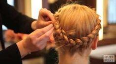 Beauty Tutorial: How To Do A Milkmaid Braid