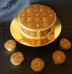 Louis vitton cake