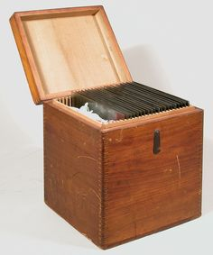 Classic Photography, Still Photography, Photography Gear, Plate Storage, Storage Chest, Plate Camera, Travel Box, Daguerreotype, Vintage Cameras