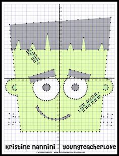 Halloween Activities – Halloween Math – Coordinate Graphing Mystery Pictures - New Site Math Teacher, Math Classroom, Teaching Math, Math Math, Math Fractions, Classroom Design, Teacher Stuff, Classroom Ideas, Halloween Math