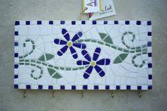 Simone Milak - Cerâmica de Ateliê: Artesanato em mosaico - Porta-chaves