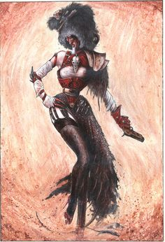 Ratspyke Female Warrior - Necromunda - Warhammer 40K - GW