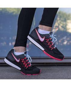 promo code 5d9bb b76d6 Nike Air Zoom Vomero 10 Femme Noir Rouge Bleu