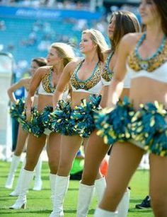 Jacksonville Jaguars Cheerleaders:  What Are They Looking For?