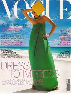 Freja Beha Erichsen by Inez & Vinoodh Vogue Portugal May 2007
