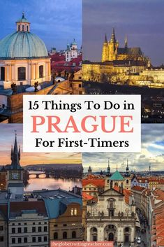 15 Things to Do in Prague for First-Timers - The Globetrotting Teacher Planning travel to Prague? Here are 15 Best Things to Do in Prague For First-Timers + a FREE Cheat Sheet to take with you on your Prague trip! Europe Destinations, Europe Travel Guide, Trip To Europe, Travelling Europe, Honeymoon Destinations, Prague Photography, Travel Photography, Cool Places To Visit, Places To Travel