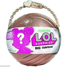 """Lol big surprise glitter Limited Edition Purchase this morning at Toys """"R"""" Us. Sold out everywhere. Non-smoking, no pets home. mga entertainment Other Toys R Us, Surprise Gifts For Him, Princess Toys, Lol Dolls, Kids Store, Toys For Girls, Doll Accessories, Cool Toys, Fashion Dolls"""