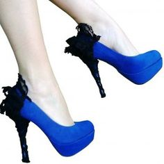 Heel-condoms: change the look of your plain looking heels. Clever!