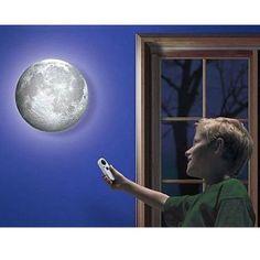 Amazon.com - Shot-in Romantic Remote Healing Moon like Night Wall Light Lamp Multi Modes - Childrens Night Lights  $20.67 & FREE Shipping