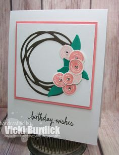It's a Stamp Thing: Swirly Birthday Wishes